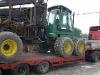 перевозка форвардера Timberjack 1410D