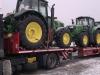 Перевозка тракторов John Deere
