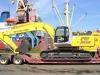перевозка экскаватора NEW HOLLAND E305